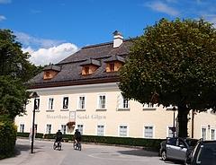 『ザンクト・ギルゲンにあるモーツァルトの記念館』