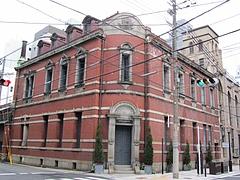 辰野金吾氏設計の赤レンガ建築『旧大阪教育生命保険』