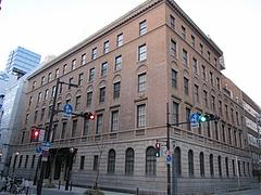 国の重要文化財に指定されている『綿業会館』
