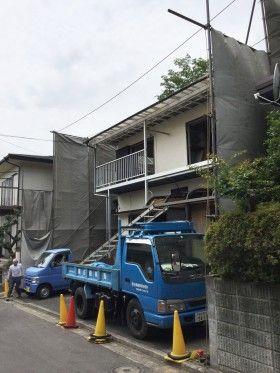 横浜市泉区で解体工事