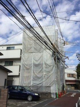 東京都大田区の木造3階建ての事務所ビル