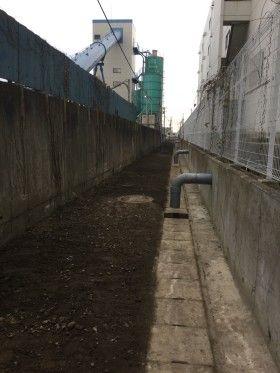 宮城県名取市で下水管工事