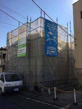 川崎市宮前区で外壁の塗装工事