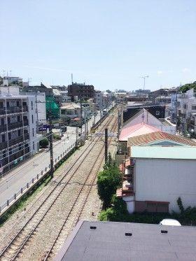 白楽駅近くの木造3階建て