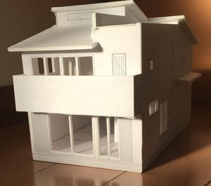 家模型 正面