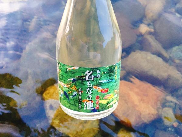 モネの池(名もなき池)のお酒と長良川と小瀬鵜飼①