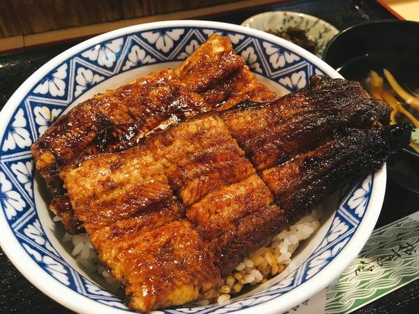 味女(あじめ)の人気メニュー「うなぎ丼」②