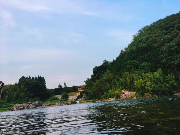 長良川の風景