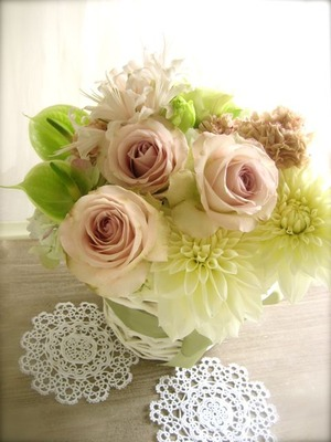 まみさんからのお花