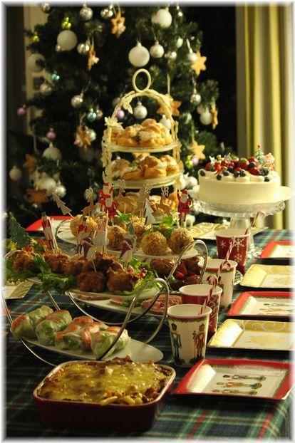 お豆腐ナゲット。 と クリスマス会の献立。