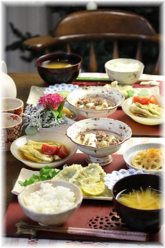 【献立】いしもちの天ぷら。と 献立。と 新大久保!