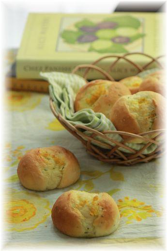 レモンバジルのテーブルパン。