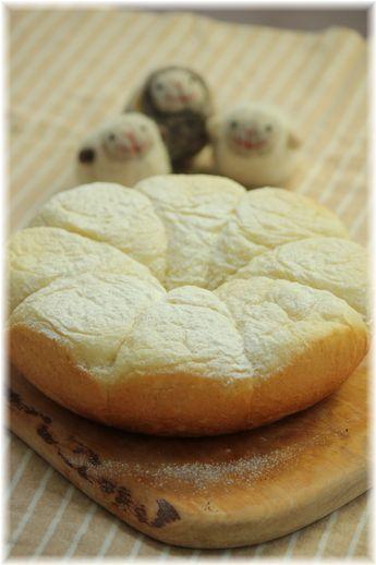 炊飯器で作る ふわふわパン。