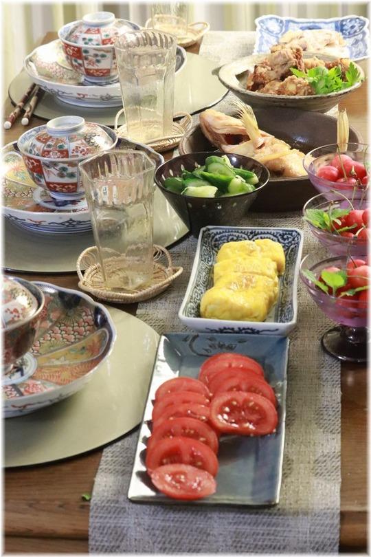 【レシピ・リンク】おうち居酒屋大会14・おいしい煮魚と小間肉揚げの献立。と 寝起きのお気遣い。