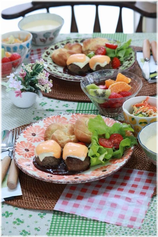 【レシピ】はちみつむすびパン。と お昼ごはんの献立。 と 会いたかったけど。
