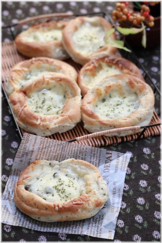 【レシピ】きのこグラタンパン。と お料理教室。