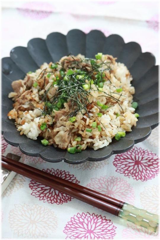 【レシピ】どうにでもなる海苔の佃煮の炊き込みご飯。と お昼ごはん。 台所風景 今昔物語。