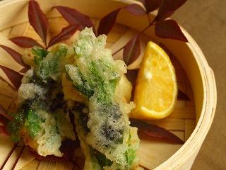 サキイカの天ぷら。