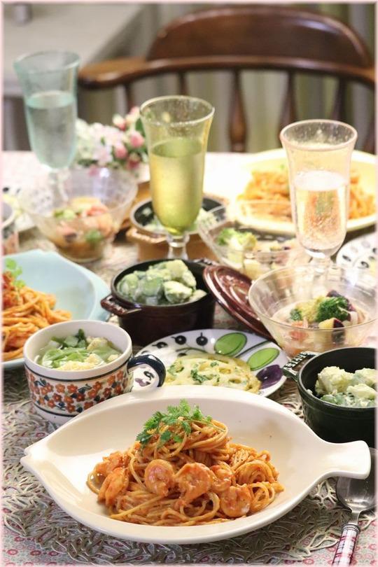 【レシピ】お鍋ひとつのスピードパスタ。と 献立。と なんてことをーーーーー!!!