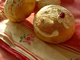 苺色の♪苺クリームパン。~ゆうかちゃんへ。~