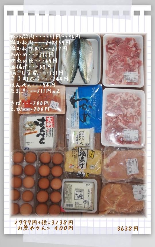 5月27日~2日のお買い物(お肉)
