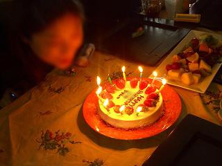 Iちゃんお誕生日おめでとう!