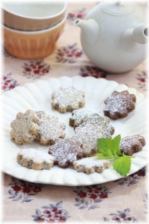 一度に3種類出来ちゃう チアシードとオリーブオイルのクッキー。