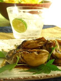 牡蠣の辛子煮☆