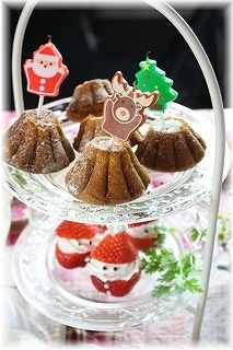 米粉ときなこのケーキ。 とクリスマスもう一回。