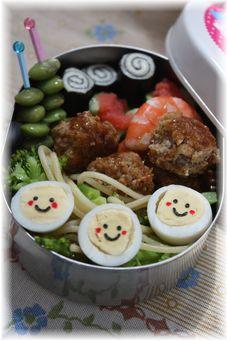 野菜たっぷりお弁当♪