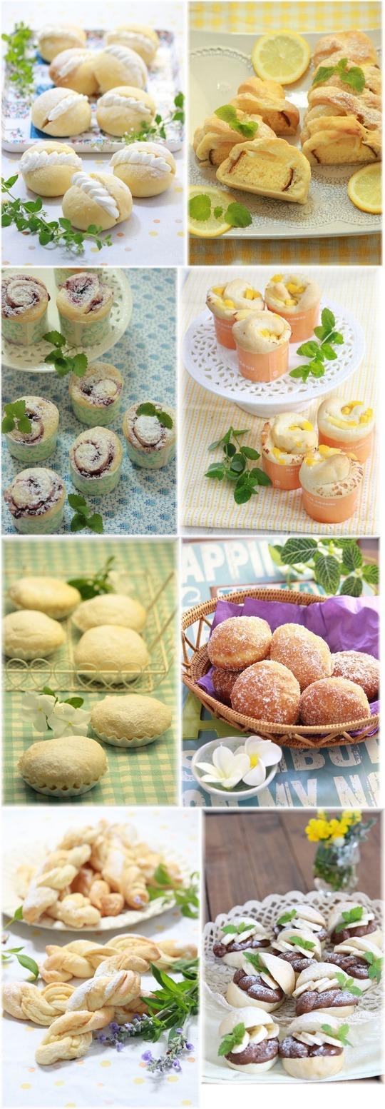 【まとめ】冷やして美味しい夏のパン♪ 8recipes。と かき氷とお買い物。