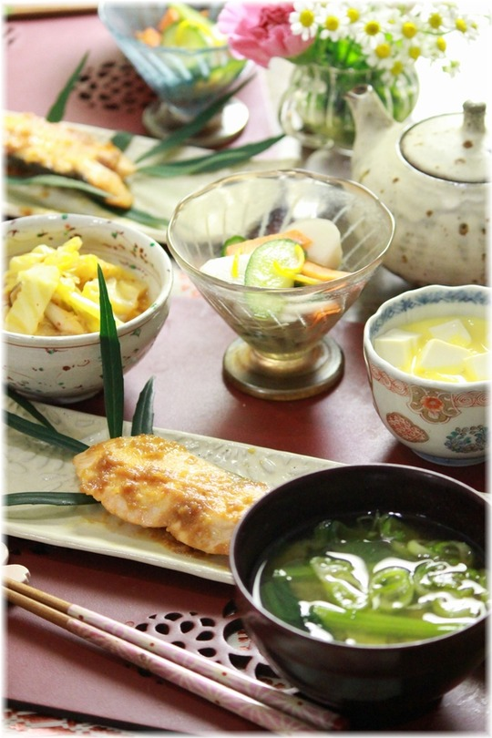 1a鮭の味噌バター焼き