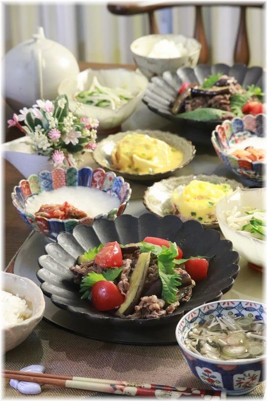 【レシピ】茄子とトマトの味噌オイスターソース炒め。と 献立 と サザン生ライブ!