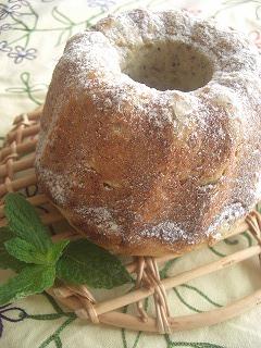 オレンジミルクティのリングパン。