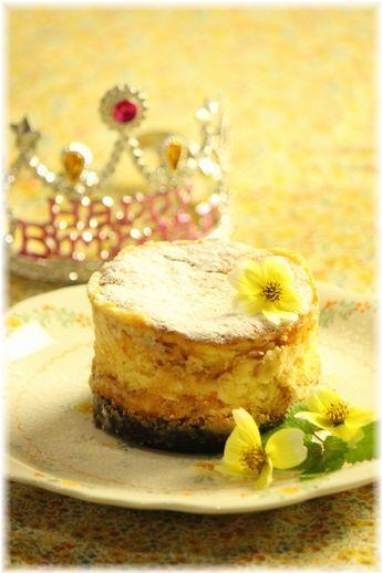 マーマレードチーズケーキ。と お誕生日の献立。