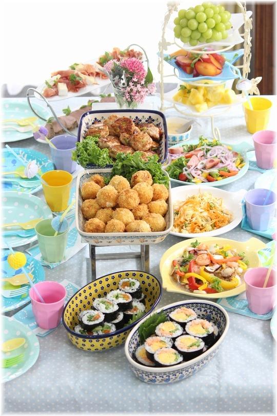 【献立 レシピリンク】花火大会。の 献立。 と 次の日のお弁当。