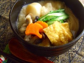 くたくた蕪の温麺。