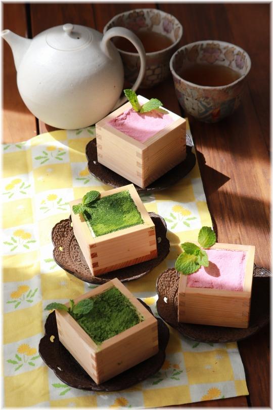 【レシピ】春のティラミス。桜ティラミス・抹茶ティラミス。と、作戦???