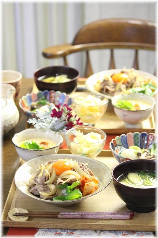 【レシピ】キムチのっけ 牛丼。と 献立。と 星野源ドームツアー『POP VIRUS』!!!