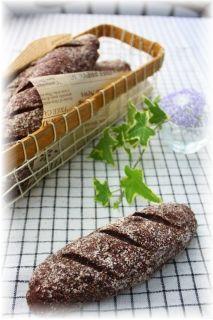 チョコココアレーズンパン。