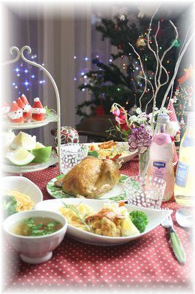 メリークリスマス♪ と 海老のスナックフライ。