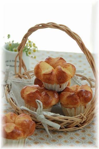 マーマレードの三つ子パン。