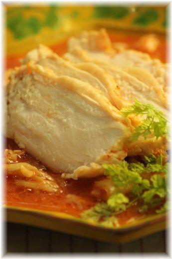 味噌キムチの蒸し鶏2YHF