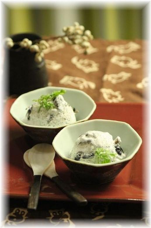 黒豆アイスクリーム