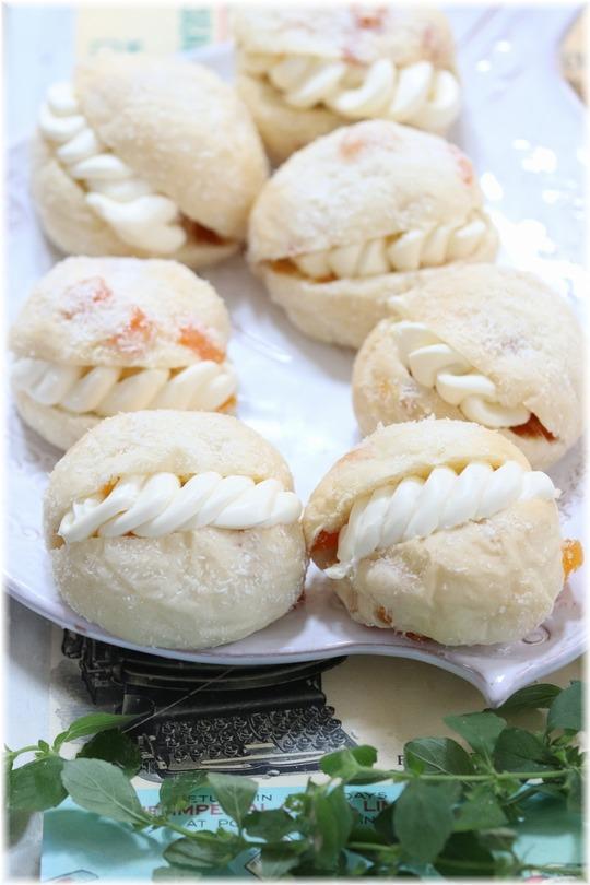 【レシピ】アプリコットココナッツの ひんやりパン。 と ハンドボール!と2種類の涙。
