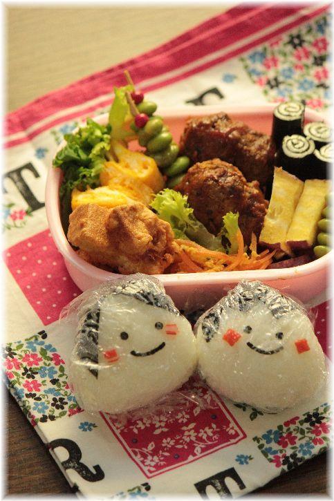 とり唐みたいな 高野豆腐唐揚げ。と お弁当2つ。