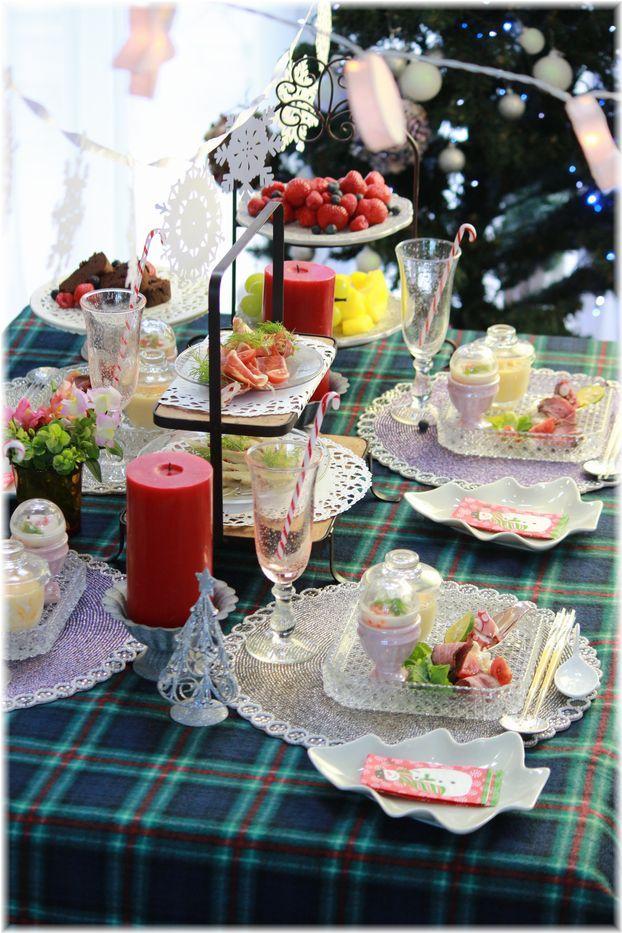 ちょこっと早いお昼クリスマス会。 の 献立。