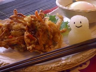 切干大根の天ぷら。