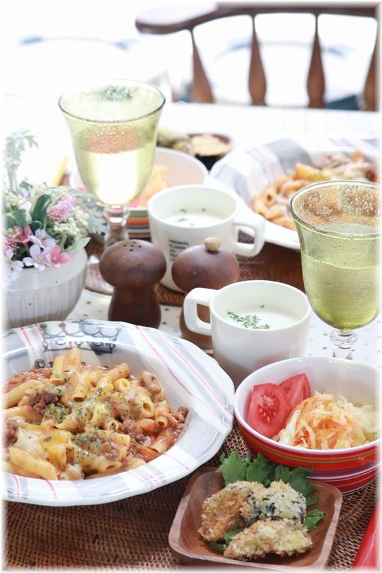 【レシピ】レンチン10分 チーズミートソースパスタ。と お昼ごはん。と なんでもない日おめでとう!!!