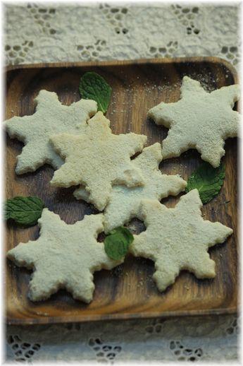 白いミルククッキー。